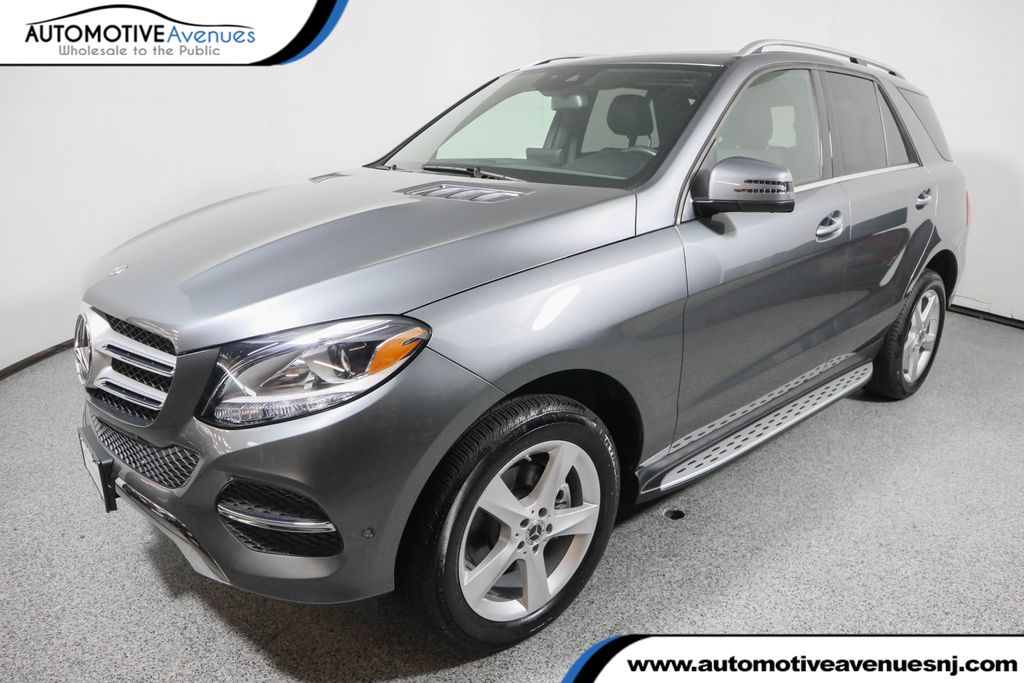 Pre-Owned 2018 Mercedes-Benz GLE GLE 350 4MATIC® SUV with Premium 1 Package