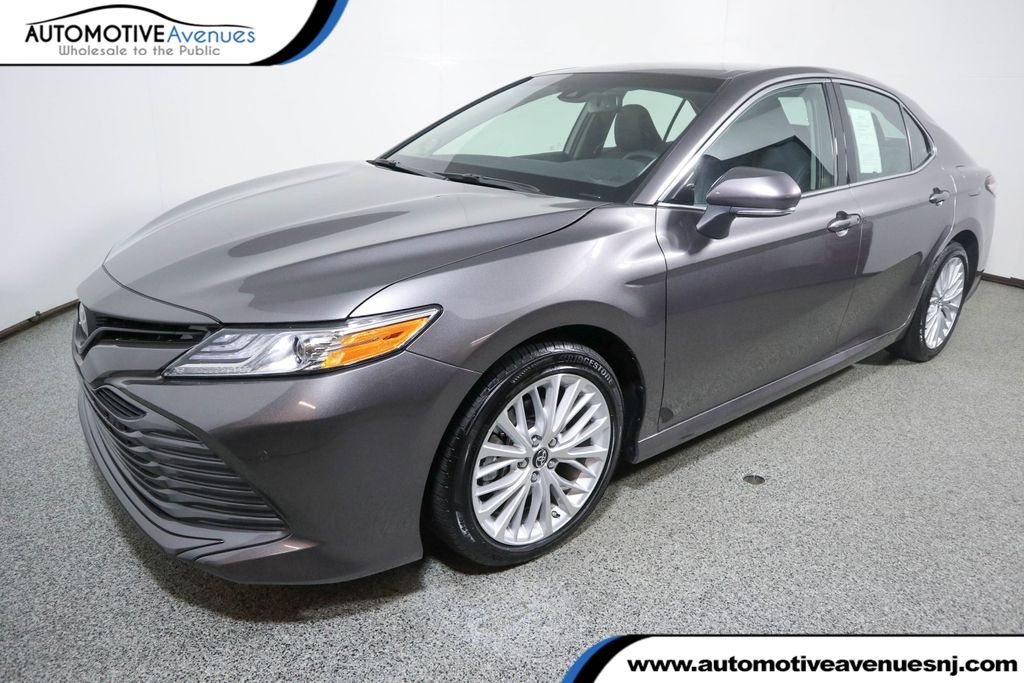 Pre-Owned 2018 Toyota Camry XLE with Audio Upgrade Package with Navigation
