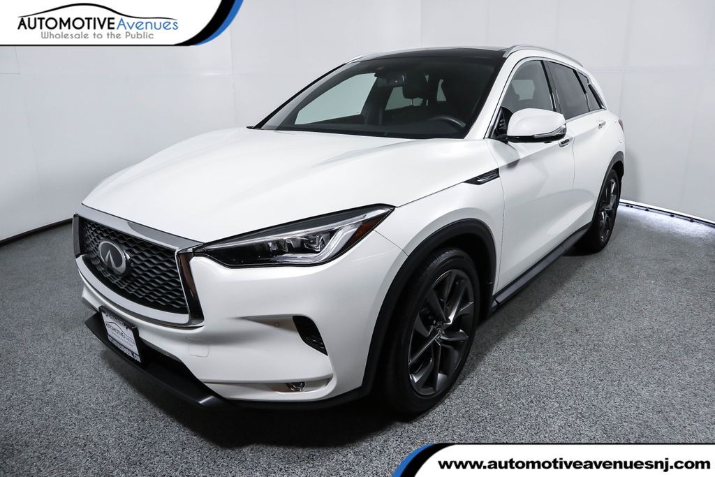 2019 Infiniti Qx50 Essential Awd With Sensory Proassist Packages