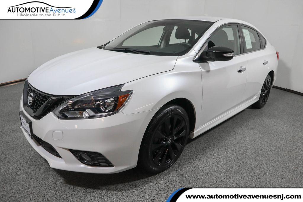 Pre-Owned 2018 Nissan Sentra SR CVT with the Midnight Edition Package