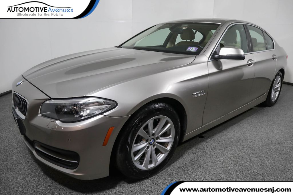Pre-Owned 2014 BMW 5 Series 528i xDrive w/ Premium and Cold Weather Packages