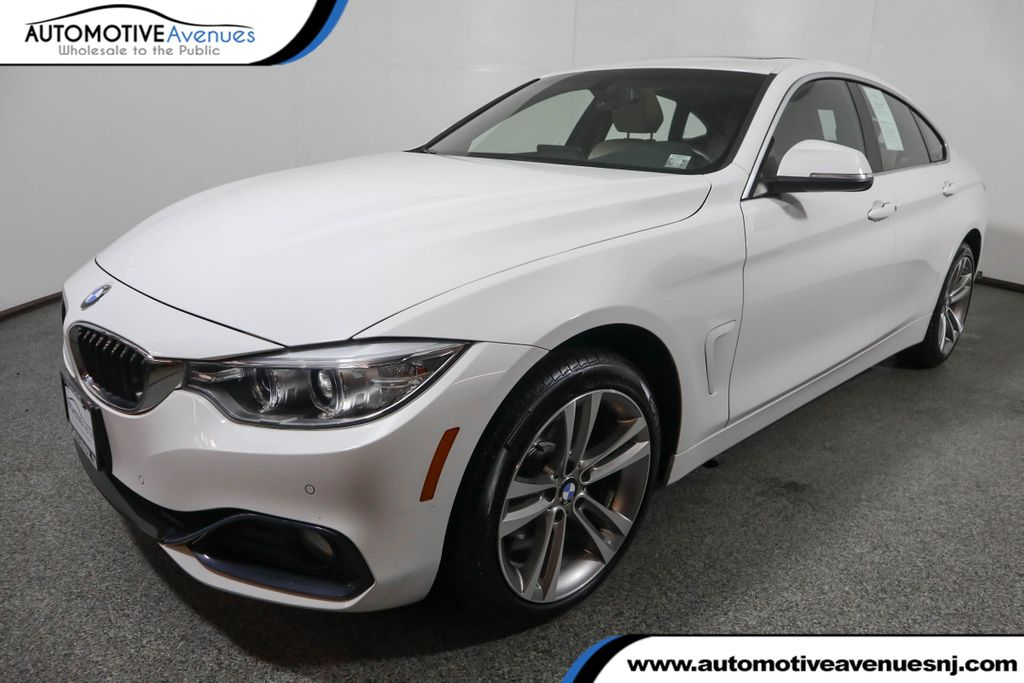 Pre-Owned 2017 BMW 4 Series 430i xDrive Gran Coupe w/ Navigation and Driving Assistance Pkg