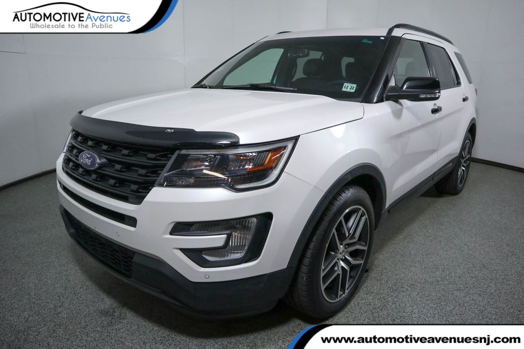 Pre-Owned 2017 Ford Explorer Sport 4WD w/ Twin Panel Moonroof