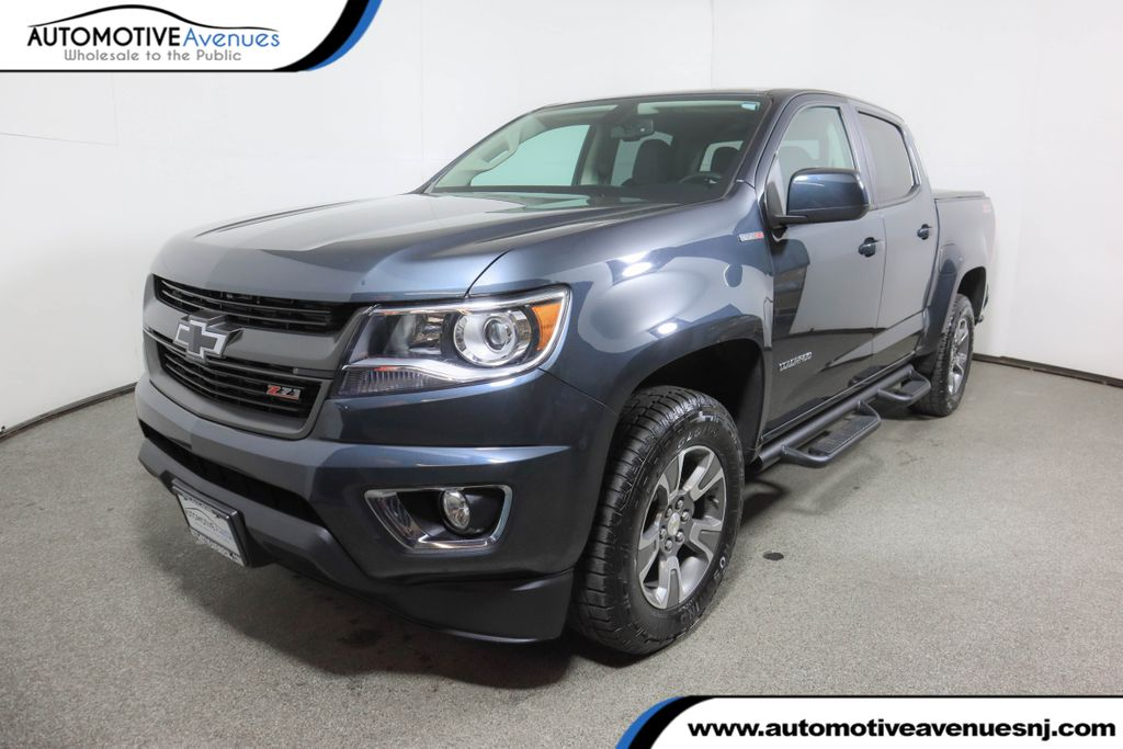 "Pre-Owned 2017 Chevrolet Colorado 4WD Crew Cab 128.3"" Z71 w/ Duramax Turbo Diesel Engine"