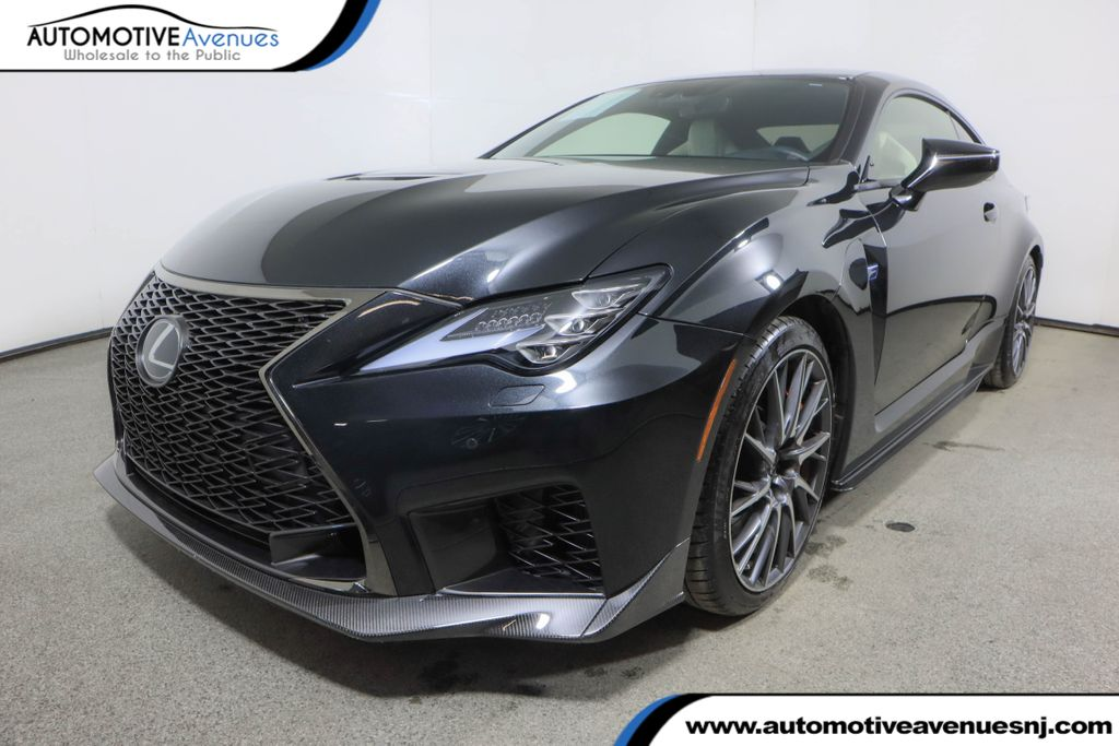 Pre-Owned 2020 Lexus RC F RC F w/ Premium & Performance Packages & Navigation