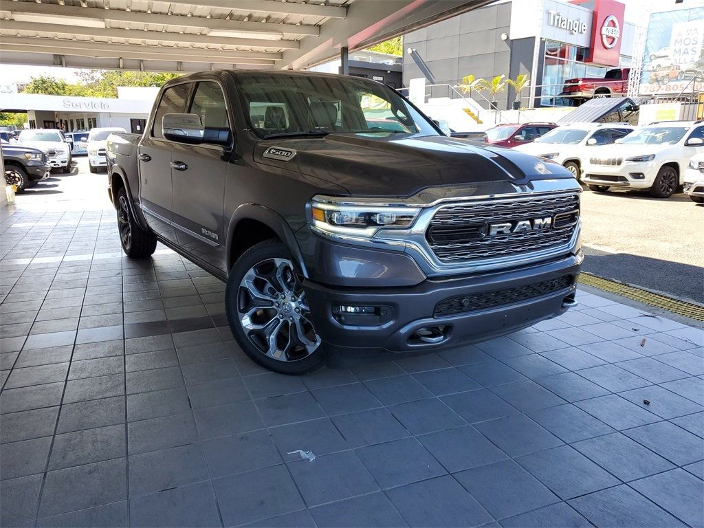 2020 New Ram 1500 Limited At Triangle Chrysler Jeep Dodge
