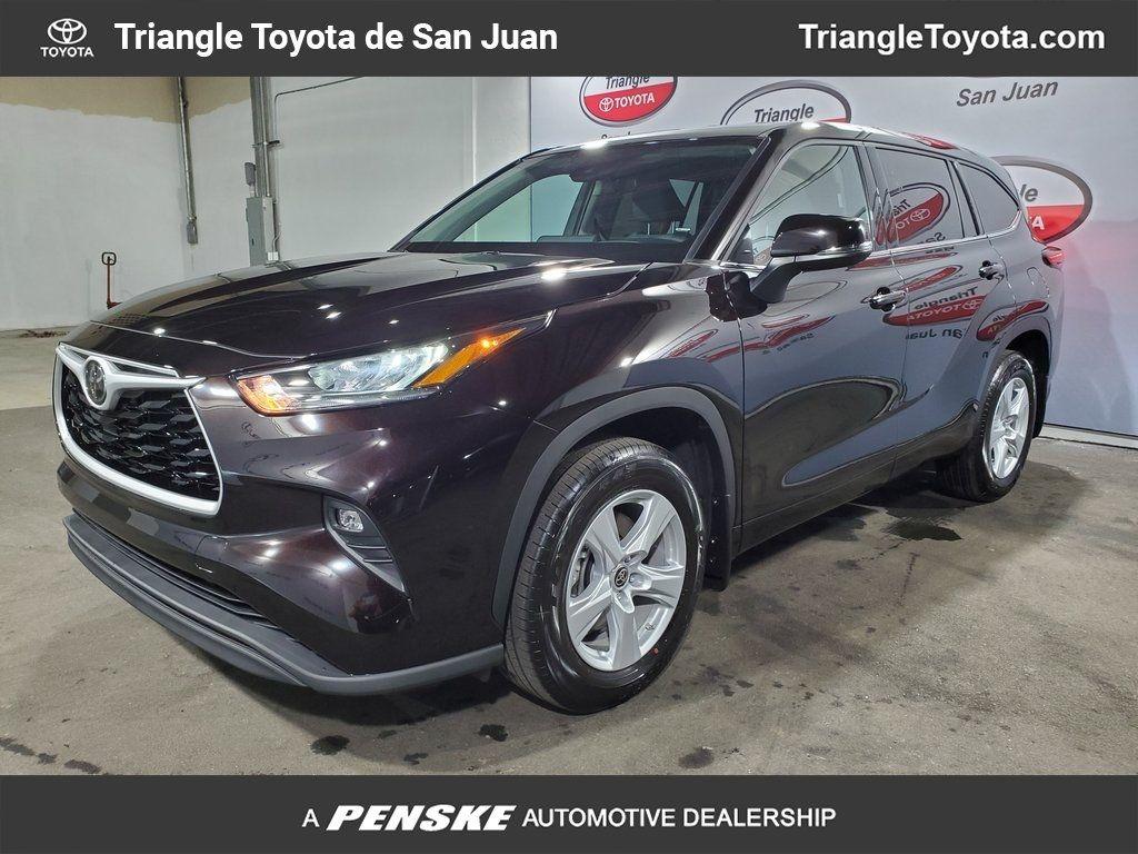 New 2020 Toyota Highlander LE FWD