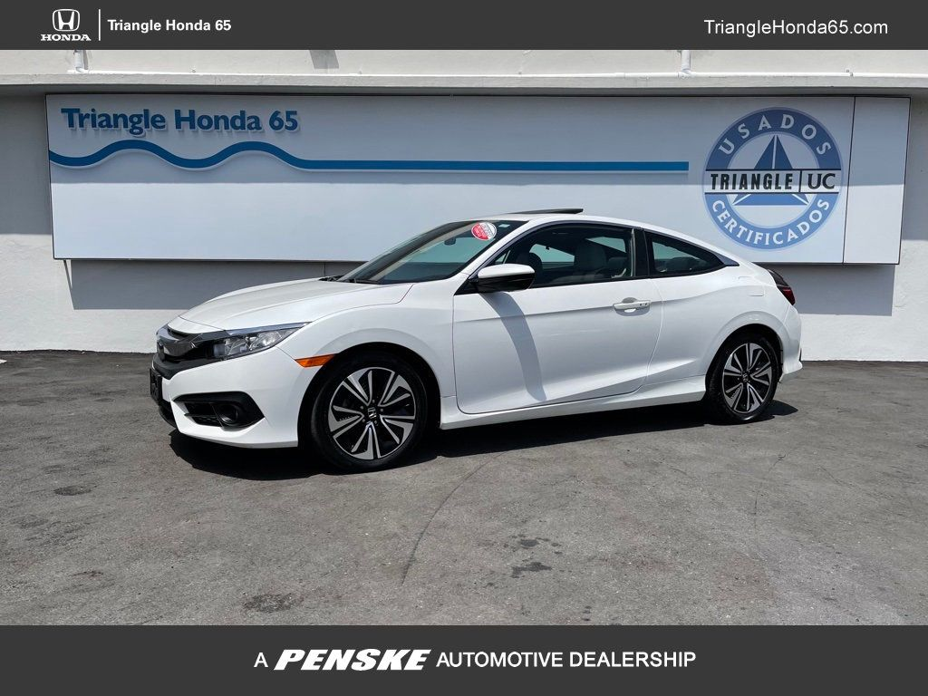 Pre-Owned 2017 Honda Civic Coupe EX-T For Only $23,995.00!!!