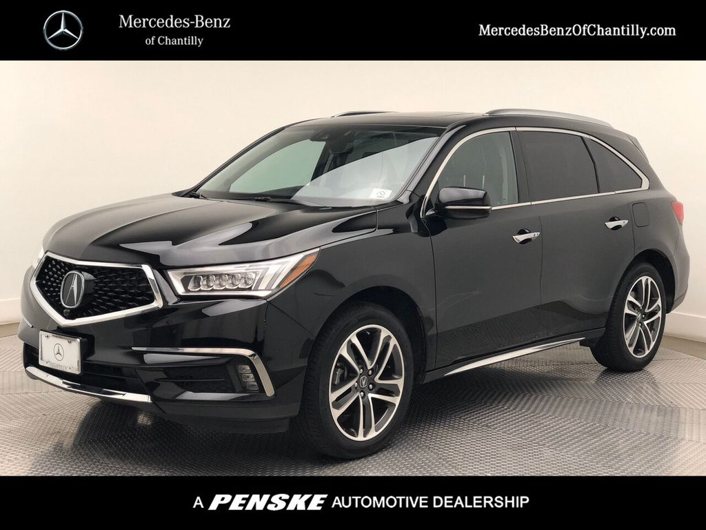 Pre-Owned 2017 Acura MDX SH-AWD w/Advance Pkg