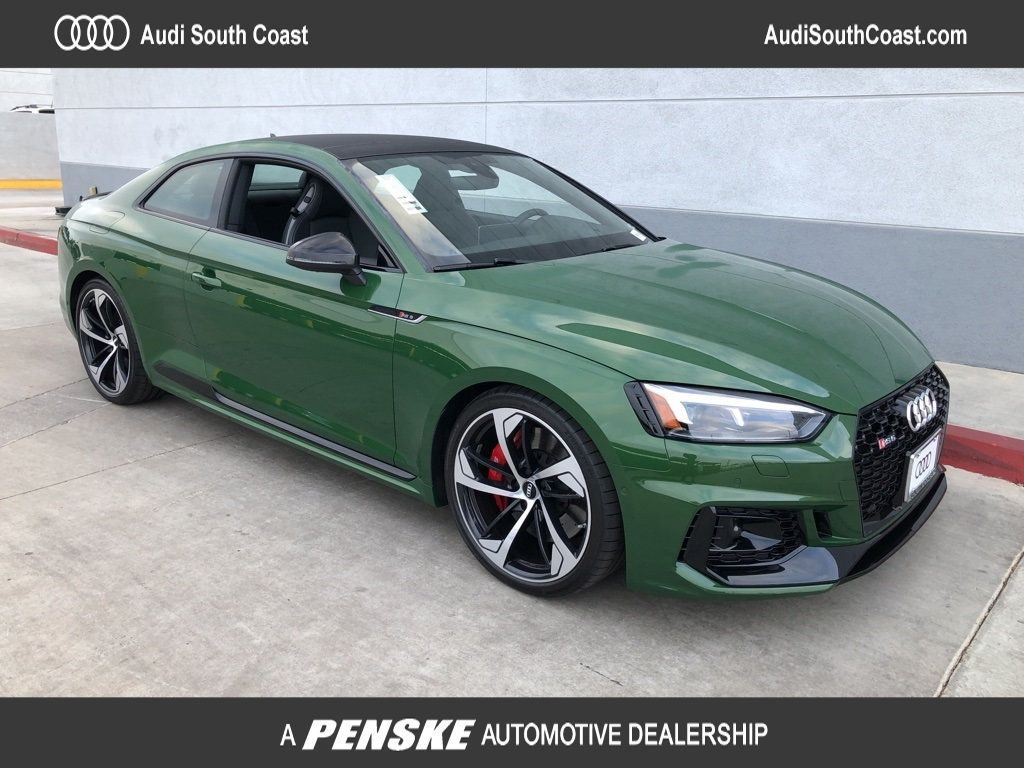 New 2019 Audi RS 5 Coupe RS 5 COUPE 2DR CPE 2.9 TFSI QTR