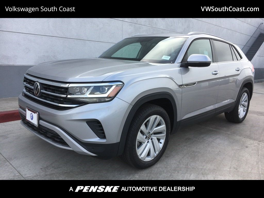 New 2020 Volkswagen Atlas Cross Sport V6 Se With Technology With 4motion Suv In Santa Ana 55799t Volkswagen South Coast
