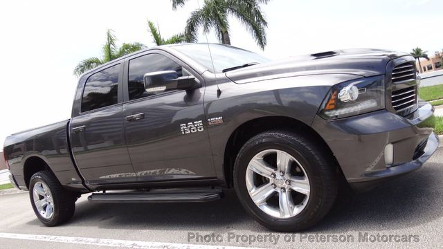 2016 Ram 1500 >> 2016 Used Ram 1500 2wd Crew Cab 149 Sport At Peterson Motorcars Serving West Palm Beach Fl Iid 19123841