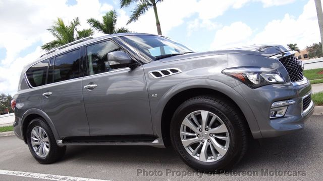 Used Infiniti Qx80 >> 2017 Used Infiniti Qx80 Rwd At Peterson Motorcars Serving West Palm Beach Fl Iid 19302174