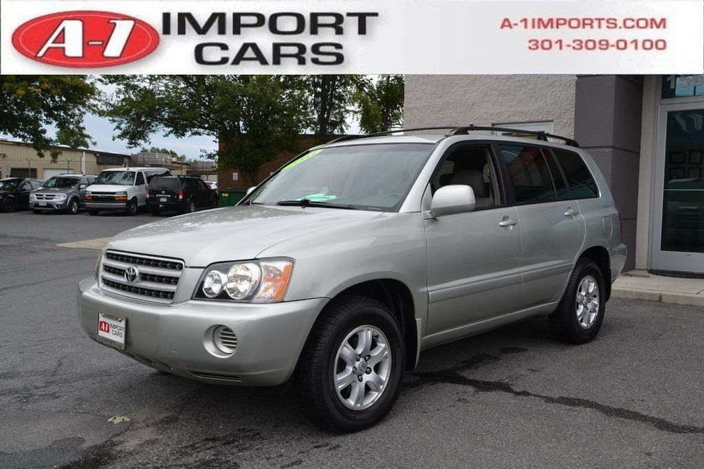 2003 Used Toyota Highlander 4dr V6 4WD at A-1 Imports