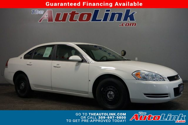 2008 Used Chevrolet Impala Police At The Auto Link Serving Bartonville Il Iid 18791668