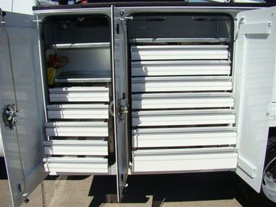 0 Tool Drawers / TTC 5 Drawer Aluminum Set