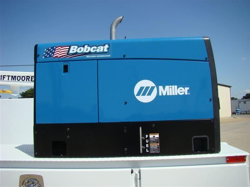New Welder - Miller Bobcat 250 at Texas Truck Center Serving