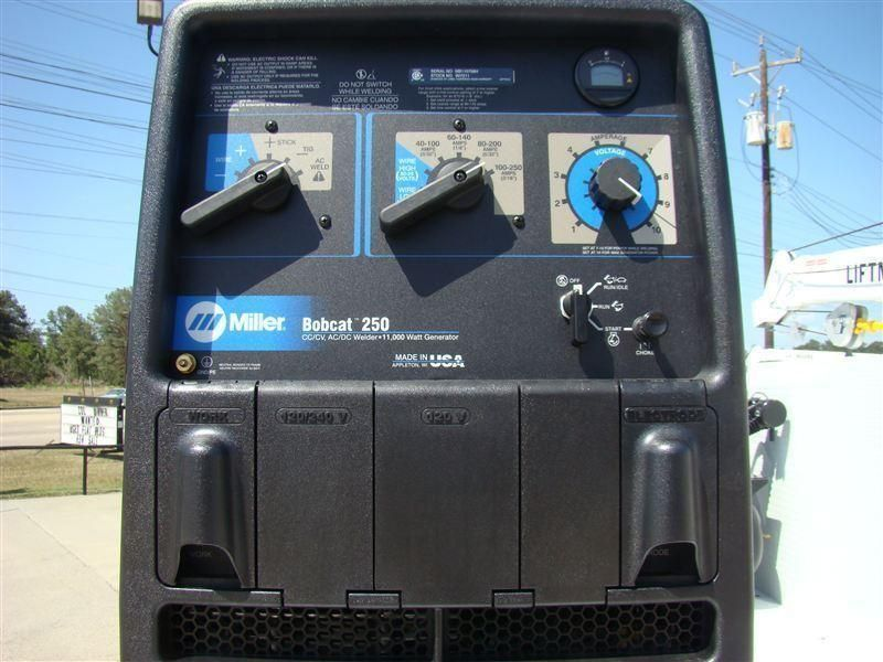 New Welder Miller Bobcat 250 At Texas Truck Center