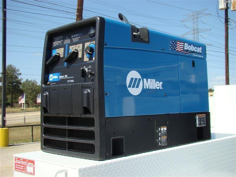 Miller Welders For Sale >> New Welder Miller Bobcat 250 At Texas Truck Center Serving Houston