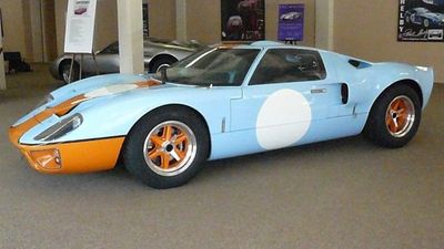 1966 Superformance GT40 Mark I Herritage Paint - Click to see full-size photo viewer
