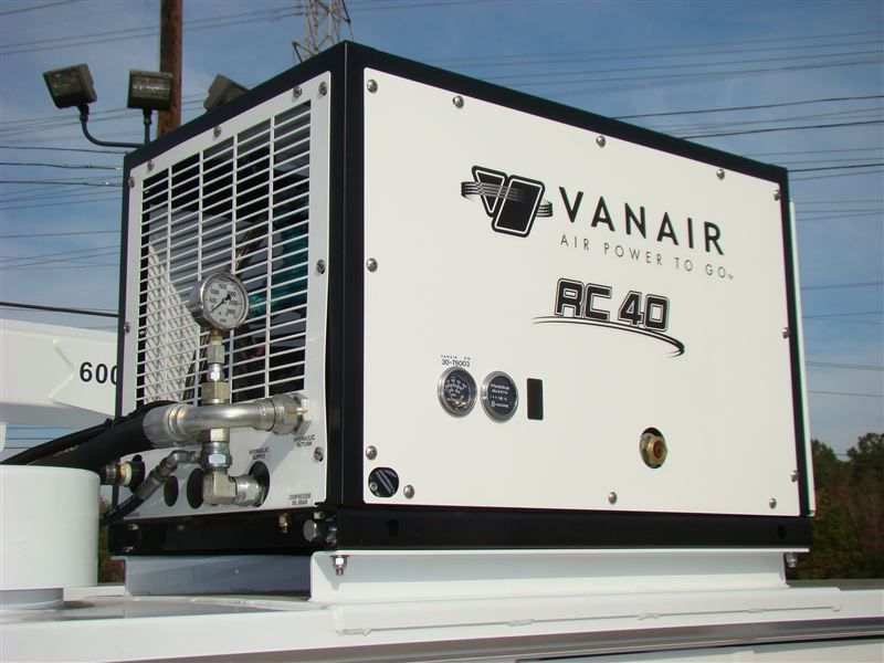 2014 Air Compressor - Van Air RC40 - Hydraulic Compressor - 7155578 - 0