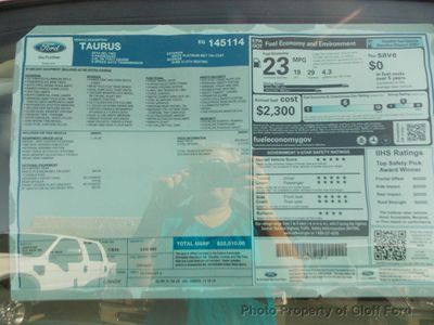 2014 Ford Taurus SEL - Click to see full-size photo viewer