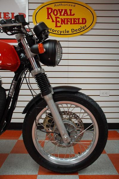 2014 ROYAL ENFIELD CONTINENTAL GT 535 CAFE RACER DEMO - Click to see full-size photo viewer