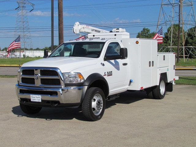 2015 Dodge Ram 5500 Mechanics Service Truck 4x4 - 13194419 - 4