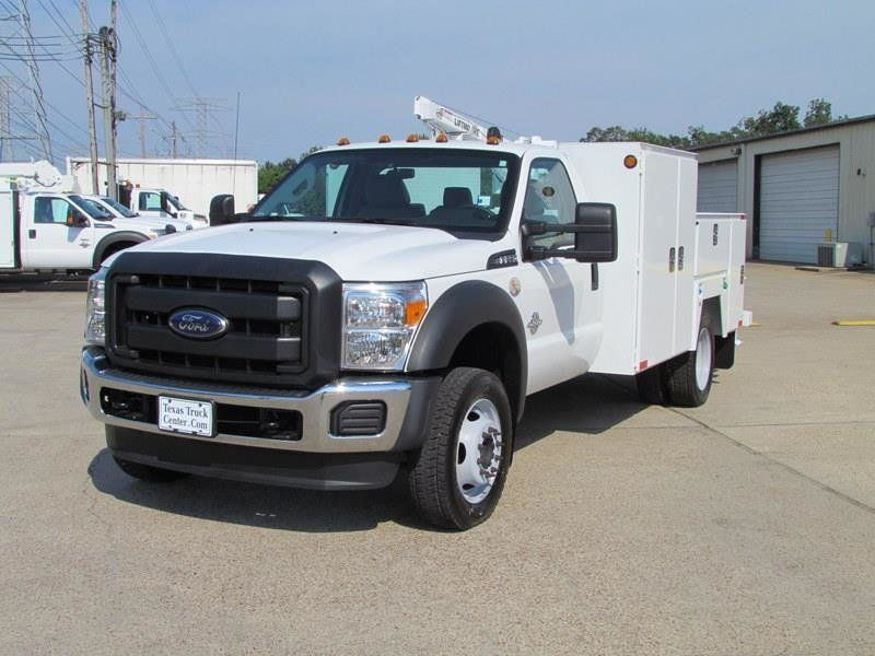 2015 Ford F550 Mechanics Service Truck 4x4 - 13281354 - 4