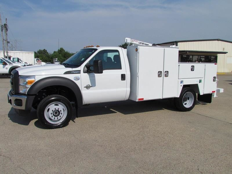 2015 Ford F550 Mechanics Service Truck 4x4 - 13281354 - 5