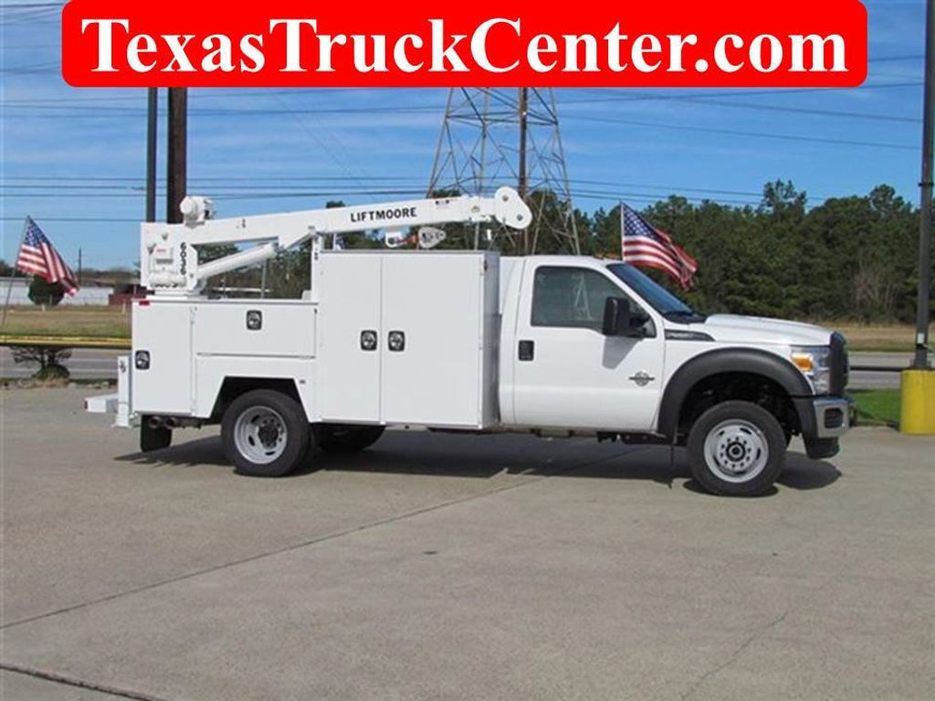 2015 Ford F550 Mechanics Service Truck 4x4 - 13281363 - 1