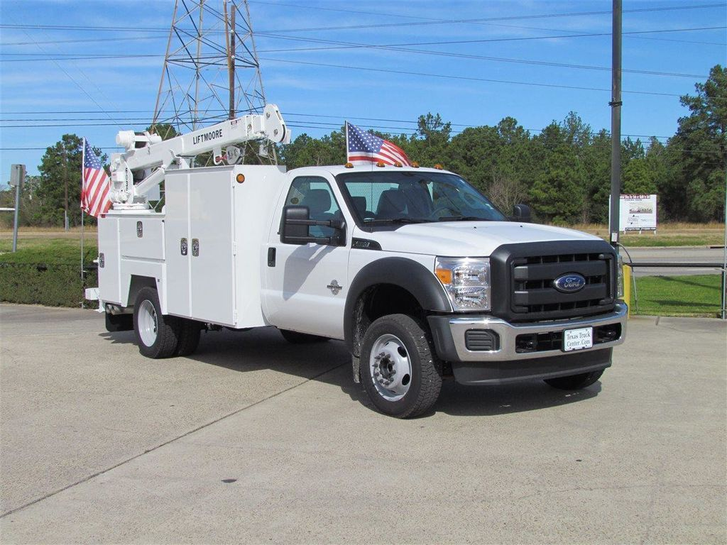 2015 Ford F550 Mechanics Service Truck 4x4 - 13281363 - 2