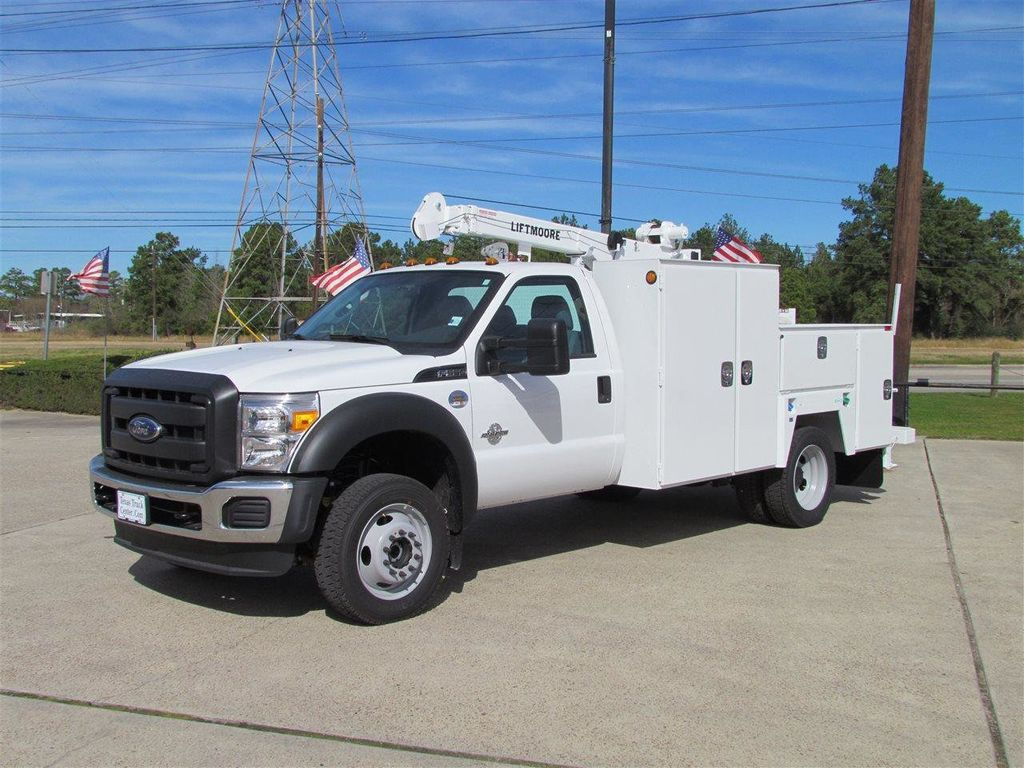 2015 Ford F550 Mechanics Service Truck 4x4 - 13281363 - 4