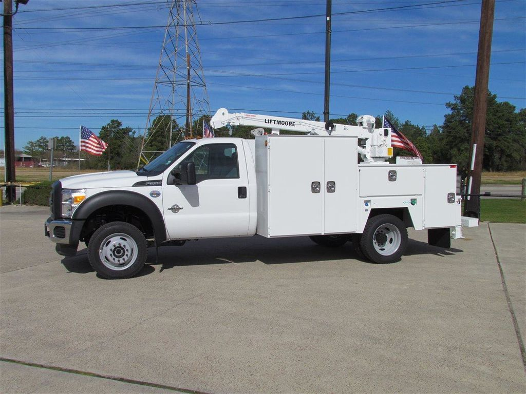 2015 Ford F550 Mechanics Service Truck 4x4 - 13281363 - 5