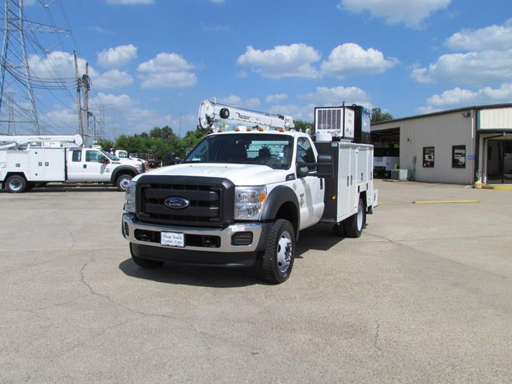 2015 Ford F550 Mechanics Service Truck 4x4 - 13531367 - 4