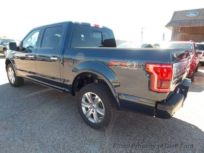 "2015 Ford F-150 4WD SuperCrew 145"" Platinum - Click to see full-size photo viewer"