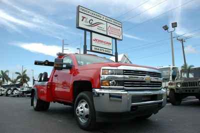 New 2016 Chevrolet Silverado 3500HD GAS.4X4.JERRDAN MPL-NG AUTO LOADER WRECKER WITH DOLLIES Truck