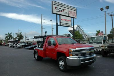 2016 Chevrolet Silverado 3500HD GAS.4X4.JERRDAN MPL-NG AUTO LOADER WRECKER WITH DOLLIES - Click to see full-size photo viewer