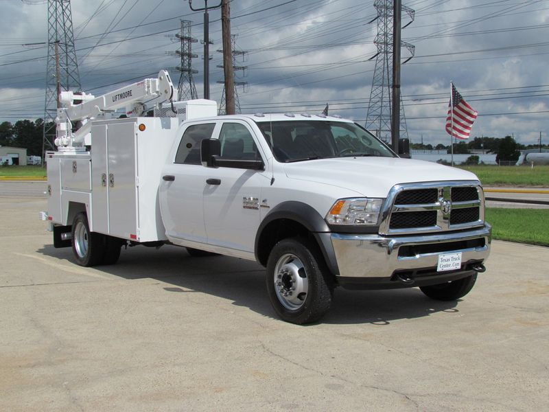 2016 Dodge Ram 5500 Mechanics Service Truck 4x4 14736008 3
