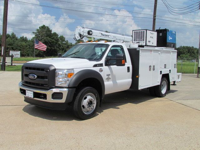 2016 Ford F550 Mechanics Service Truck 4x4 - 15213003 - 4