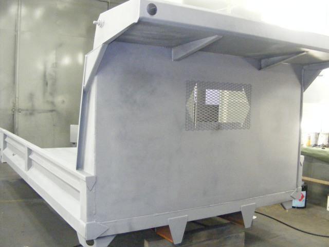 2017 ADVANCED FABRICATORS 14YB14S 14ft Steel YardBird Dump Body