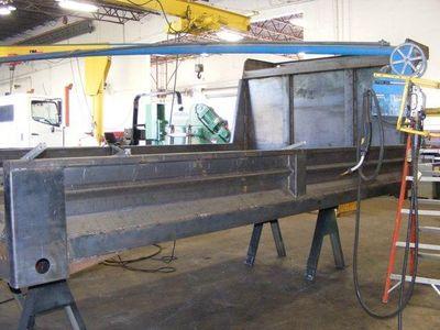 2017 ADVANCED FABRICATORS 14YB14S 14ft Steel YardBird Dump Body - Click to see full-size photo viewer