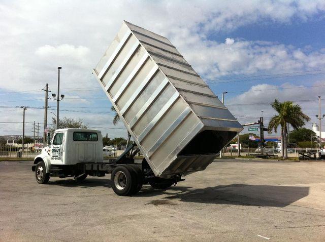 2017 ADVANCED FABRICATORS 16CHD72A ..16ft Aluminum Chipper Dump Body