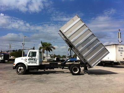 2017 ADVANCED FABRICATORS 16CHD72A ..16ft Aluminum Chipper Dump Body - Click to see full-size photo viewer