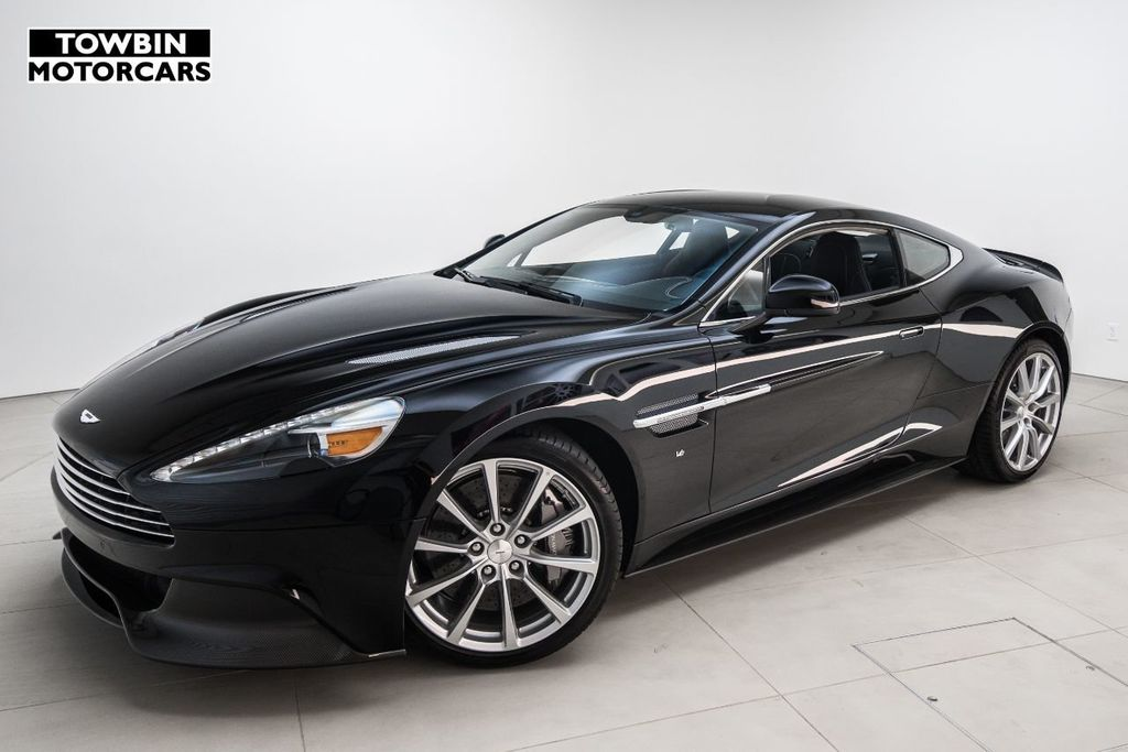 New Aston Martin Vanquish Coupe At Towbin Motorcars Serving Las - Aston martin parts online