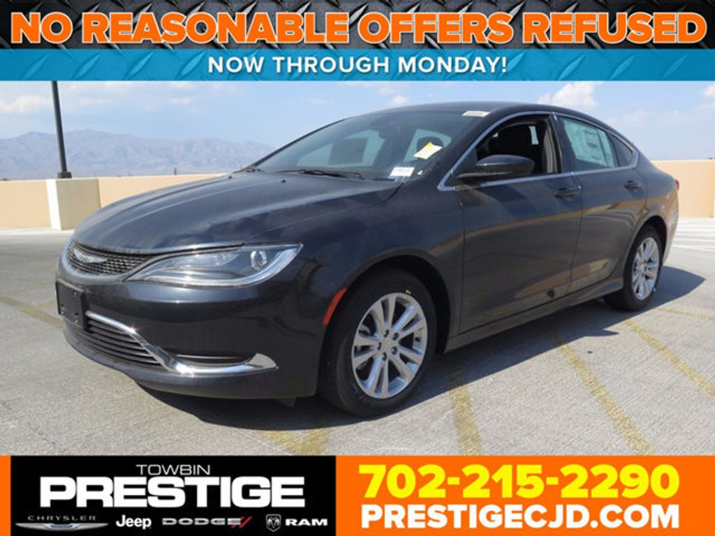 2017 Chrysler 200 Limited Platinum FWD - 16731706 - 0
