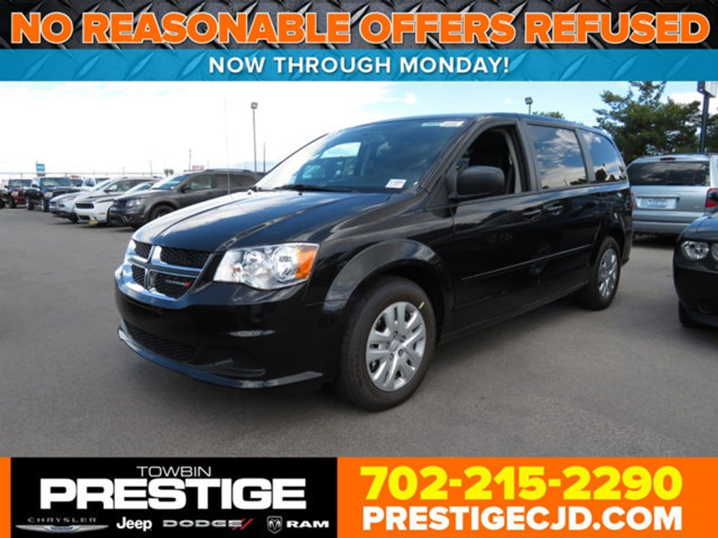 2017 Dodge Grand Caravan SE Wagon - 16741060 - 0