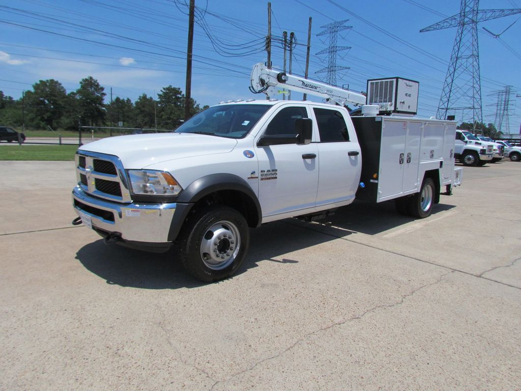 2017 dodge ram 5500 mechanics service truck 4x4 16271348 3