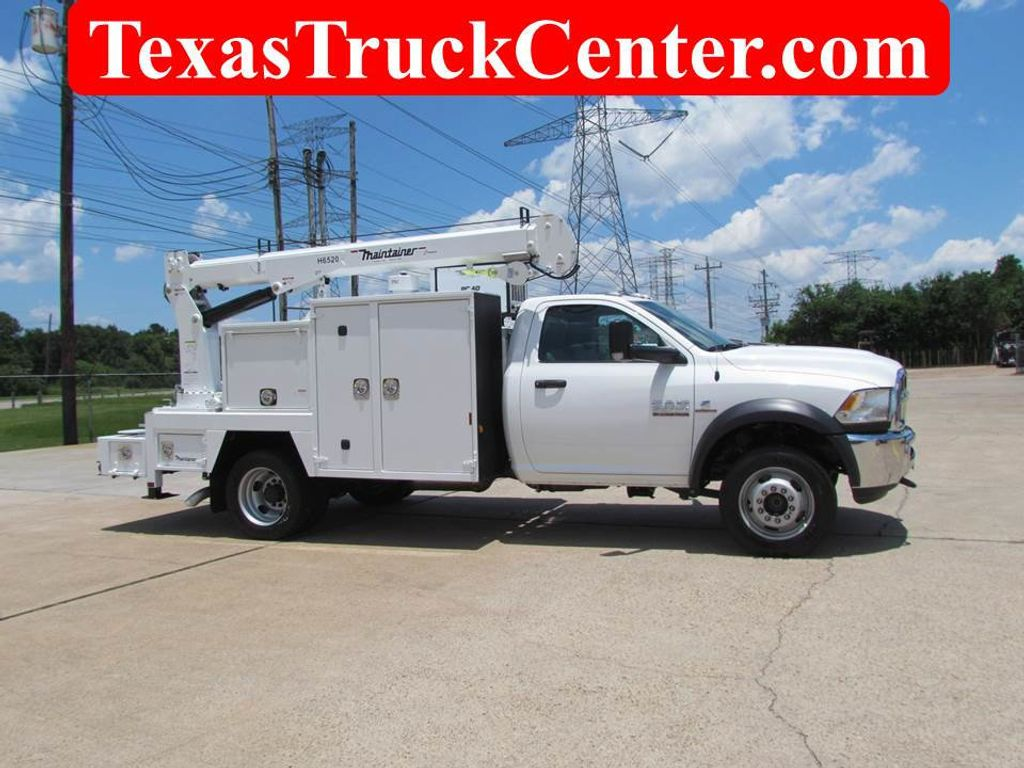 2017 Dodge Ram 5500 Mechanics Service Truck 4x4 - 16271376 - 0