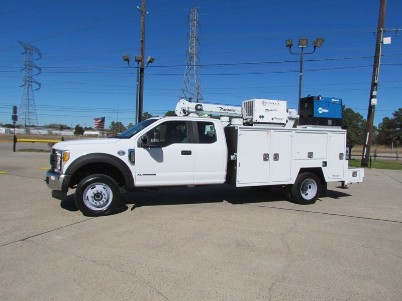 2017 Ford F550 Mechanics Service Truck 4x4 - 16652824 - 4